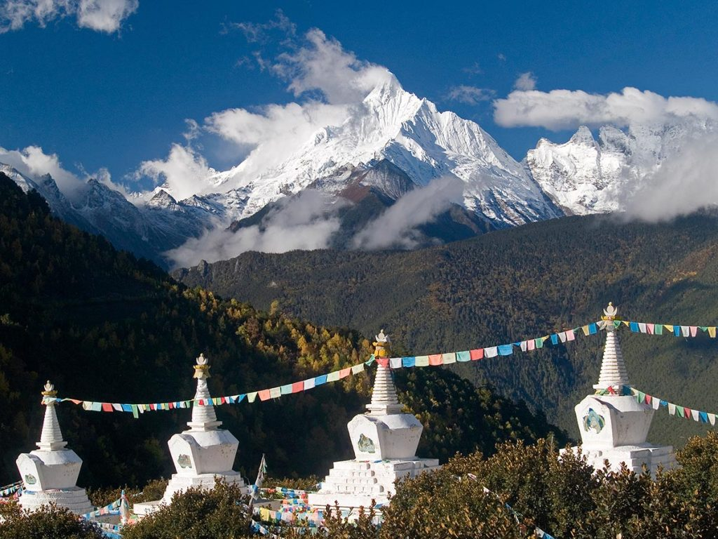 majestic Tibetan alpine