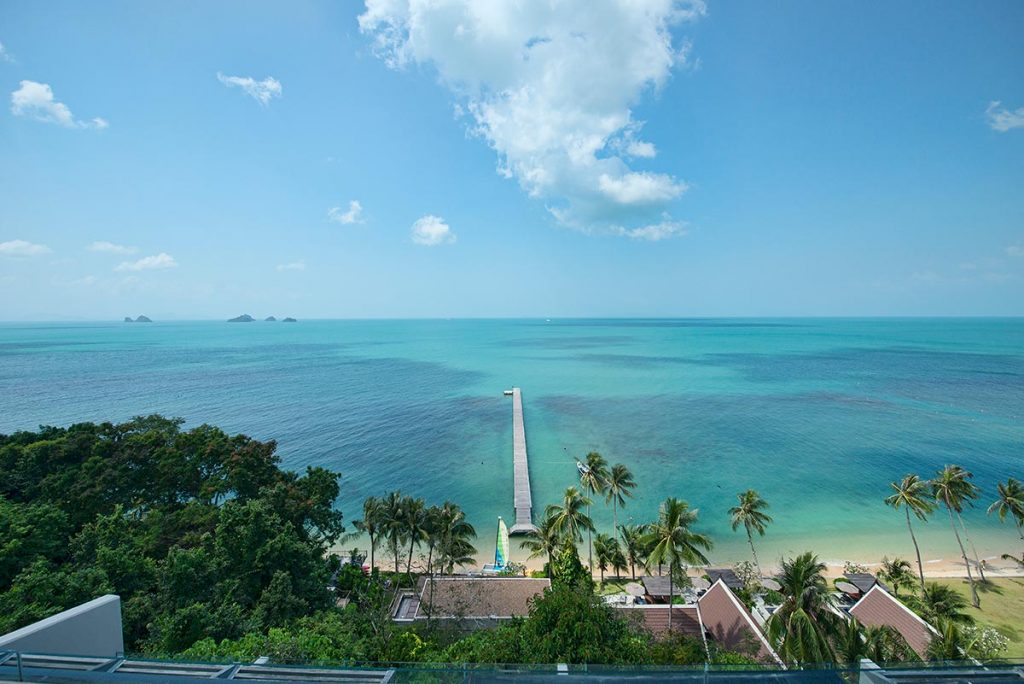 Stunning sea view and tropical paradise, Koh Samui, Thailand